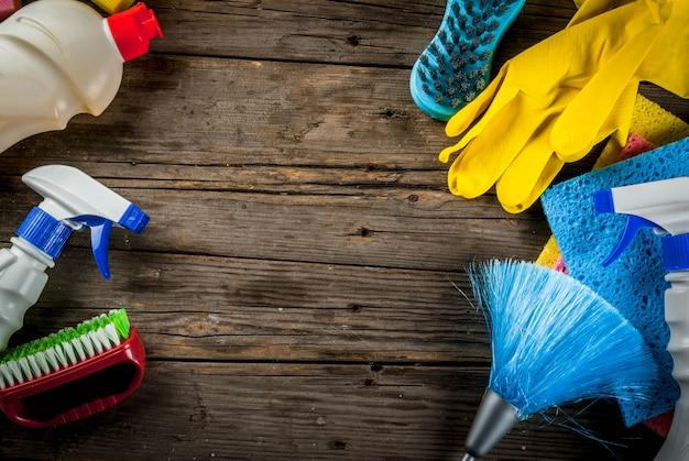 春の大掃除用品