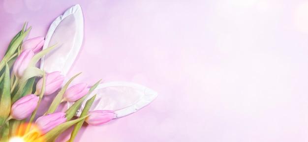 봄 부활절 배경