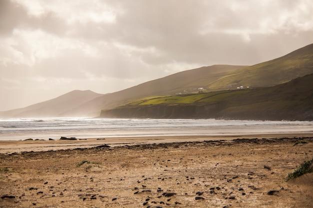Весенний пейзаж в землях ирландии.