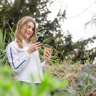 Spring modern lifestyle and a quest for nature and technology