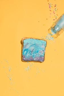 Sprinkled toast