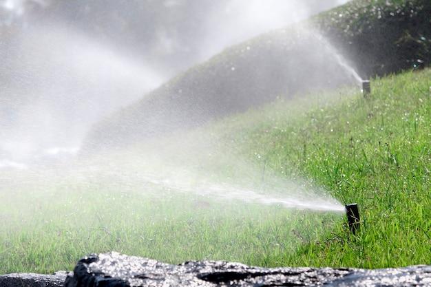 Спринклерная головка для полива кустов и травы