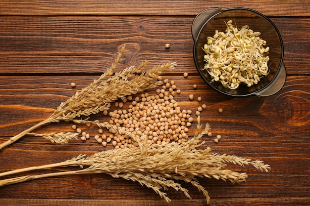 Sprouted grains are good for health. c