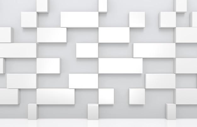 Sqaure長方形の形状のスタックの背景。