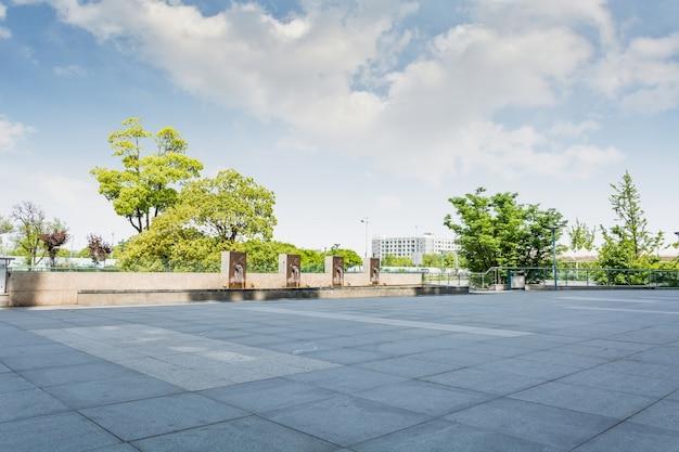 광장 시멘트