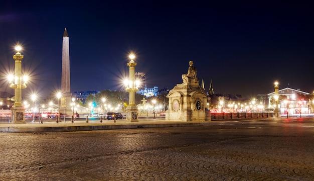 Square of concorde in paris