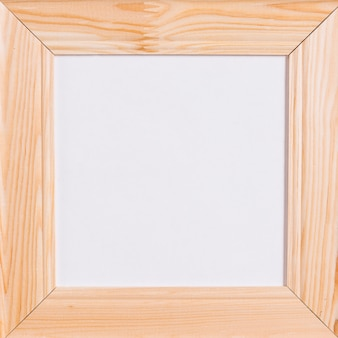 Square frame from wood