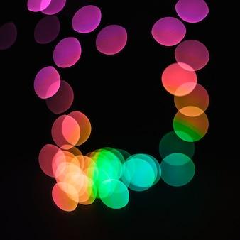 Quadrato da punti luminosi