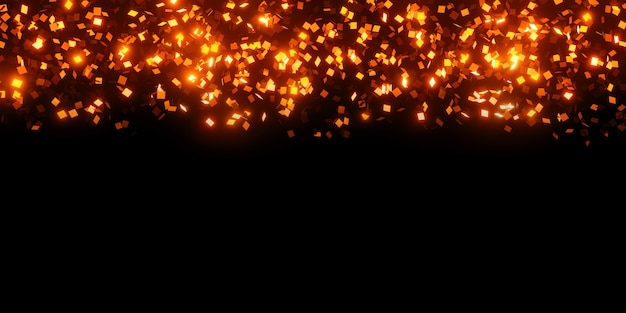 Квадратный глянцевый светоотражающий лист абстрактный фон 3d иллюстрация