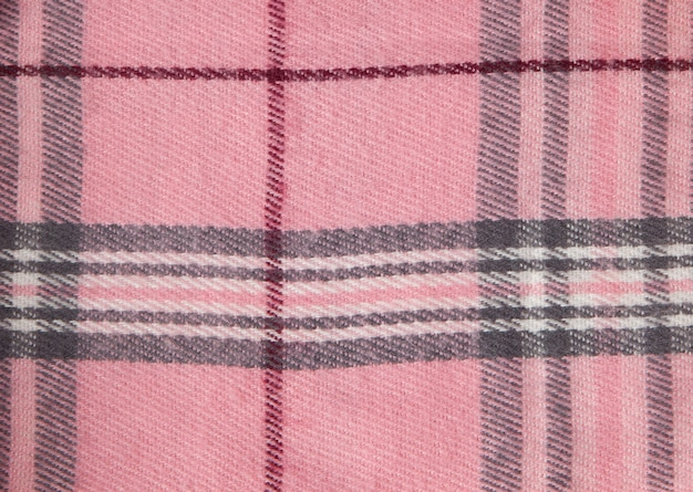 Square pattern fabric background. textures pink and white cotton fabric. the pattern for textiles. cell. shirts plaid. trendy illustration for wallpapers. fashion design and house interior design