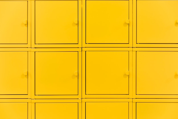 Squared lockers