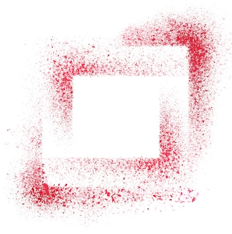 Squares. red stenciled abstract background - space for your own text - raster illustration