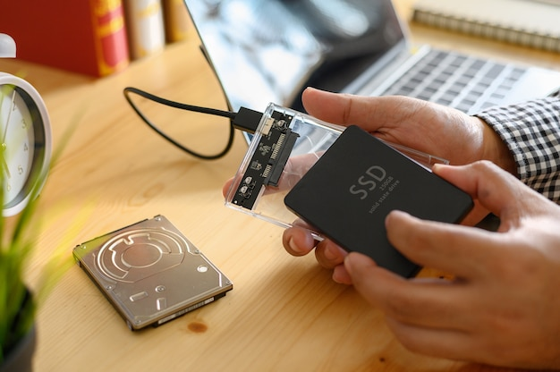 Ssd and laptop,solid state drive with sata 6 gb connection