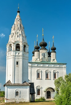 St. alexander monastery in suzdal, the golden ring of russia