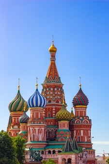 St. basil's cathedral, moscow,russia, red square