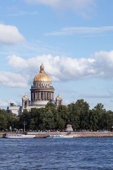 St. isaac's cathedral in saint petersburg in russia