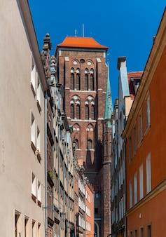 St. mary's church in gdansk, poland