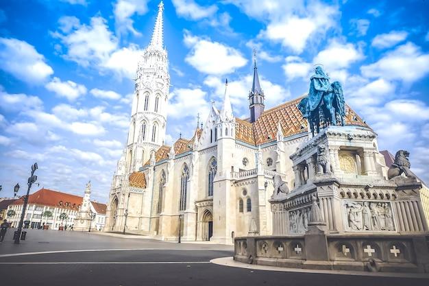 Церковь святого матьяша в будапеште, венгрия