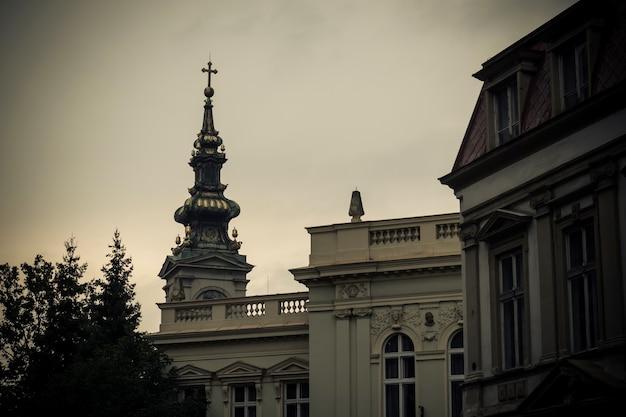 聖ミカエル大聖堂。セルビア共和国ベオグラード