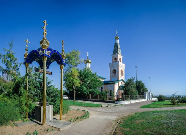 St. nicholas cathedral in ochakov city, ukraine