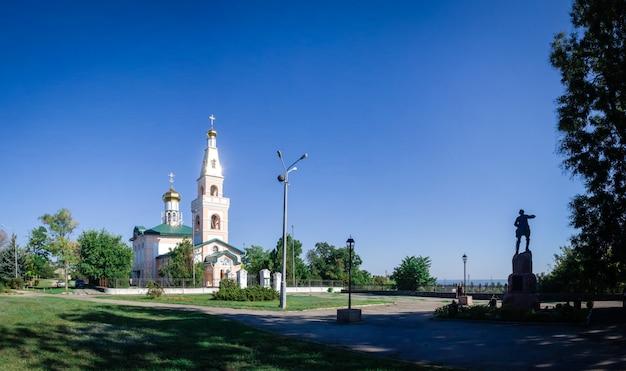 St. nicholas cathedral in ochakov city, ukraine
