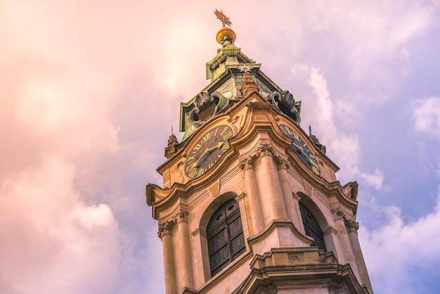성 니콜라스 교회(mala strana). 프라하, 체코