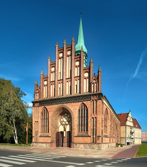 St. peter and paul church in stettin, poland