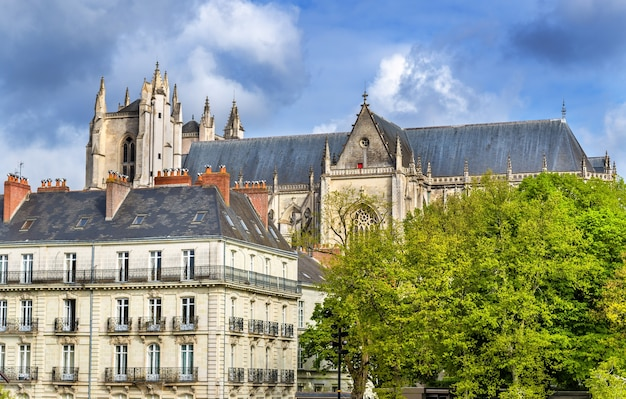 St peter and st paul cathedral of nantes in france