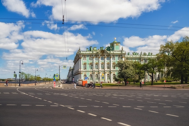 St. petersburg without tourists