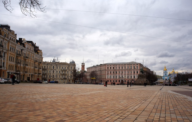 St. sophia square in kiev