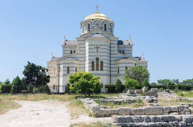 고대 체르소네소스의 영토에 있는 성 블라디미르 대성당