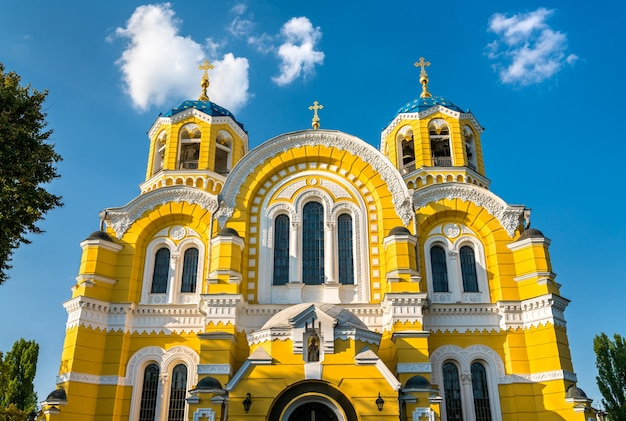 St volodymyr cathedral, the main cathedral of the kiev patriarchy ukrainian orthodox church