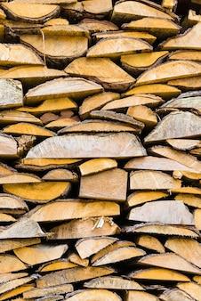 薪のスタック