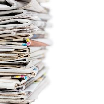 신문의 스택
