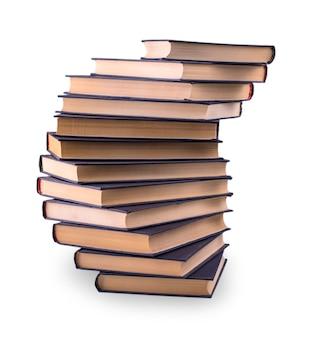 오래 된 책 스택