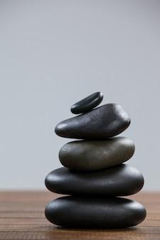 Стек галечных камней