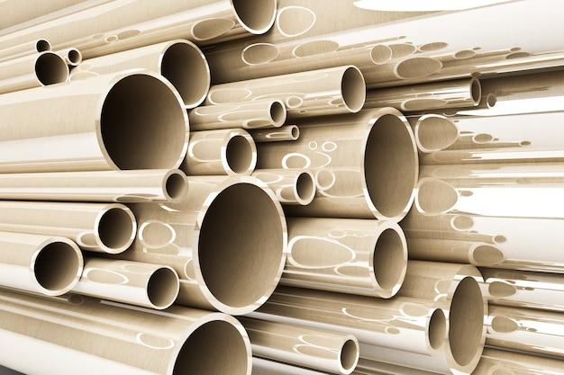 Стек стальных трубок, нержавеющих трубок