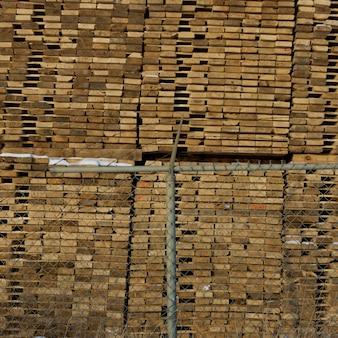 나무 판자, chetwynd, 브리티시 컬럼비아, 캐나다의 스택