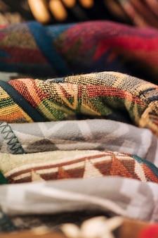 Stack of sweatshirts