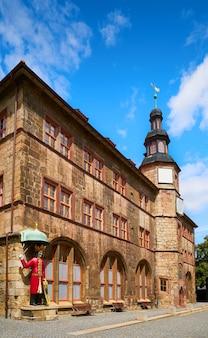 Stadt nordhausen rathaus thuringia germany
