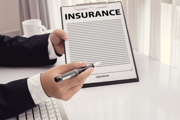 Staff recommended the benefits of insurance coverage