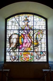 Stained glass segovia alcazar