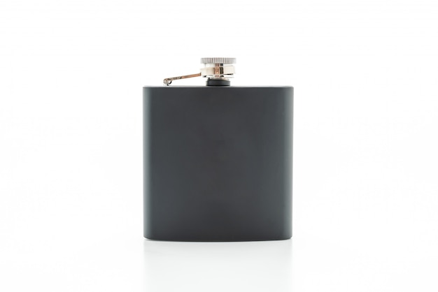 Stainless steel hip flask