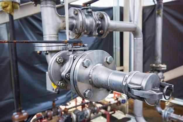 ステンレス鋼配管フランジバルブコンポーネントgtawtig溶接継手圧力容器の製造