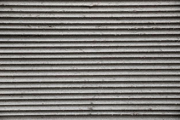 ステンレス鋼の縞模様の背景