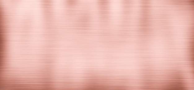 Stainless steel texture metal background, rose gold color