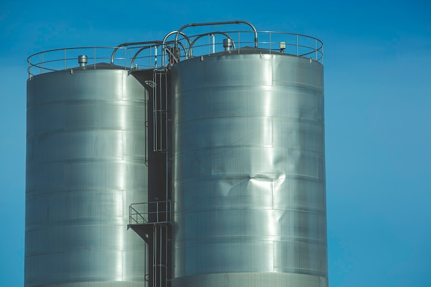 화학 산업의 스테인리스 스틸 사일로는 용접 조인트를 손상시킵니다.