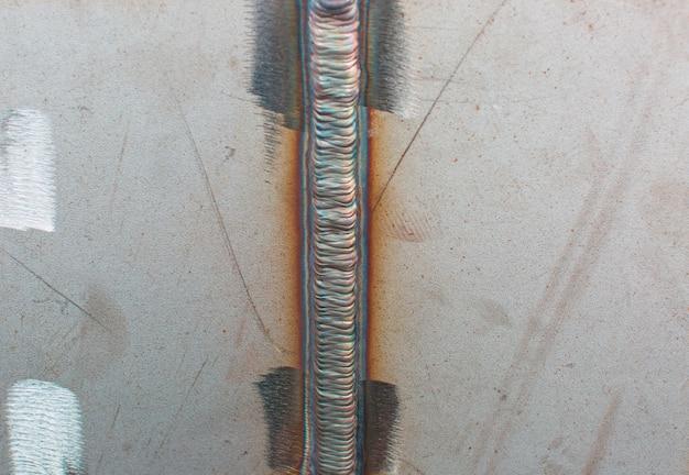 아르곤 공정에 의한 스테인레스 스틸 용접 조인트 플레이트