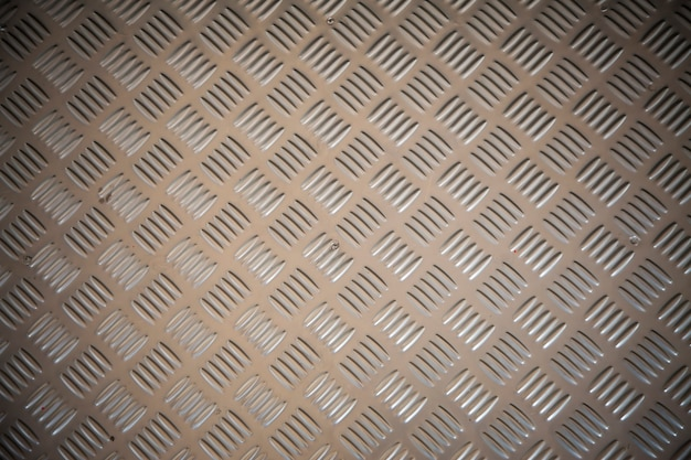 Stainless steel with non slip pattern.