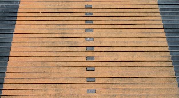 公園、建築、建設の階段セメント